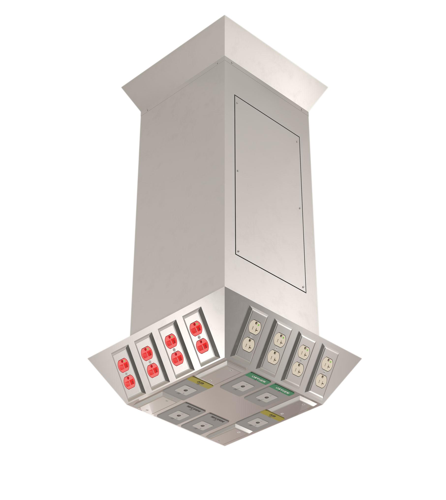 Architectural Columns Product : Hsi rigid ceiling column type b